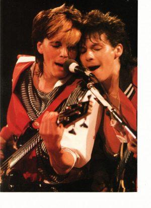 Duran Duran Roger Taylor John Taylor sing together