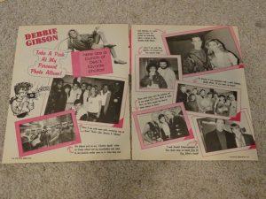 Debbie Gibson teen magazine clipping personal photo album Tutti Frutti