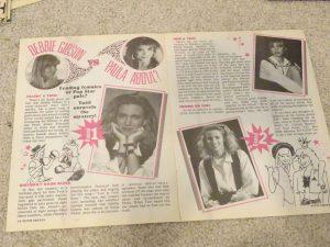 Debbie Gibson Paula Abdul teen magazine clipping Pop Star Pals Tutti Frutti