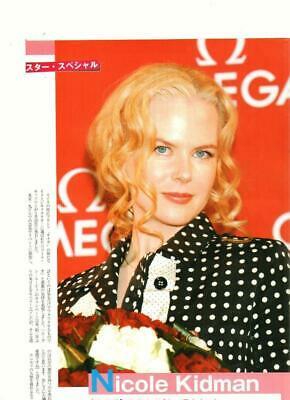 Nicole Kidman teen magazine pinup clipping flowers