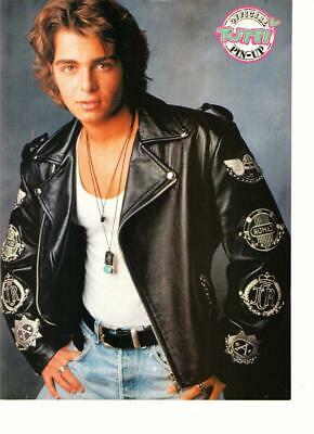 Joey Lawrence leather jacket Tutti Frutti pinup teen idol