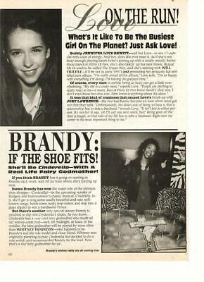 Jennifer Love Hewitt Brandy Billy Sullivan teen magazine pinup clipping PO5