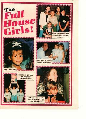 Mary Kate Olsen Ashley Olsen Full House girls Tutti Frutti pinup