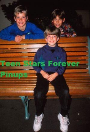 Taran Noah Smith Jonathan Taylor Thomas Zachery Ty Bryan park bench Home Improvement boys